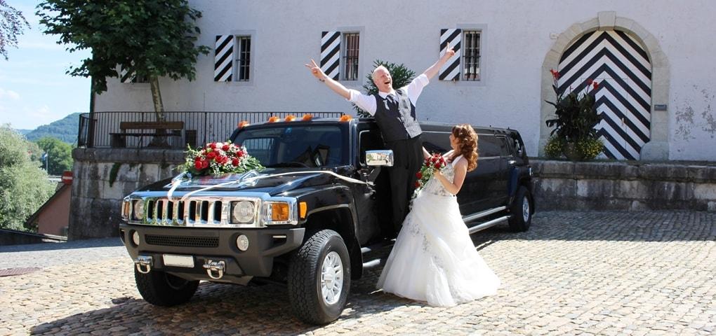 Hochzeitsauto mieten Schweiz